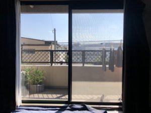 福岡市南区窓ガラス目隠しフィルム施工