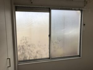 窓ガラス目隠しフィルム北九州市戸畑区