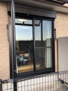 目隠し 遮熱 飛散防止 UVカット 窓ガラスフィルム柳川市施工実績