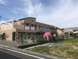 福岡市東区 飛散防止フィルム 施工実績画像