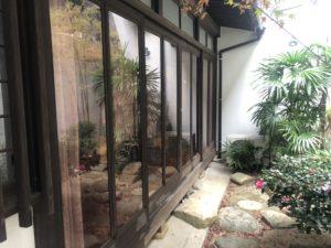 目隠し窓ガラスフィルム 施工時実績 北九州市八幡東区