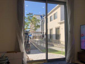 小倉北区窓ガラス目隠しフィルム施工