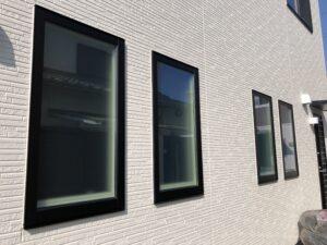 古賀市窓ガラス目隠しフィルム