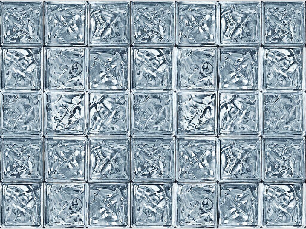 たくさん並んだガラスキューブ