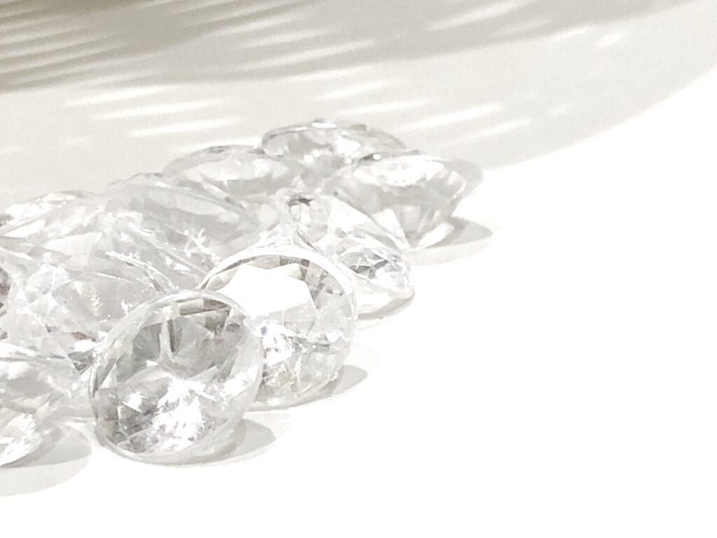 ガラスのダイヤ