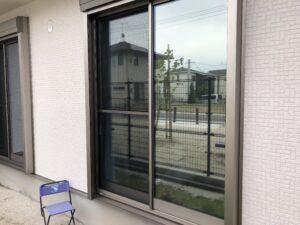 福岡県久留米市窓ガラス目隠しフィルム