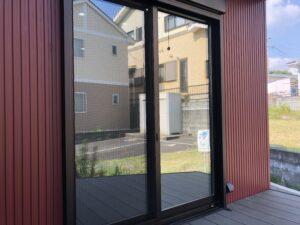 福岡市中央区窓ガラス目隠し防犯フィルム