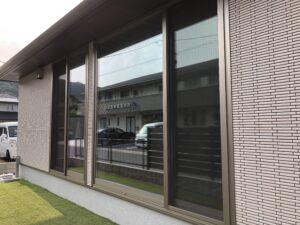 北九州市小倉南区窓ガラス目隠しフィルム