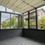 福岡市 ガーデンルーム UVカット 遮熱